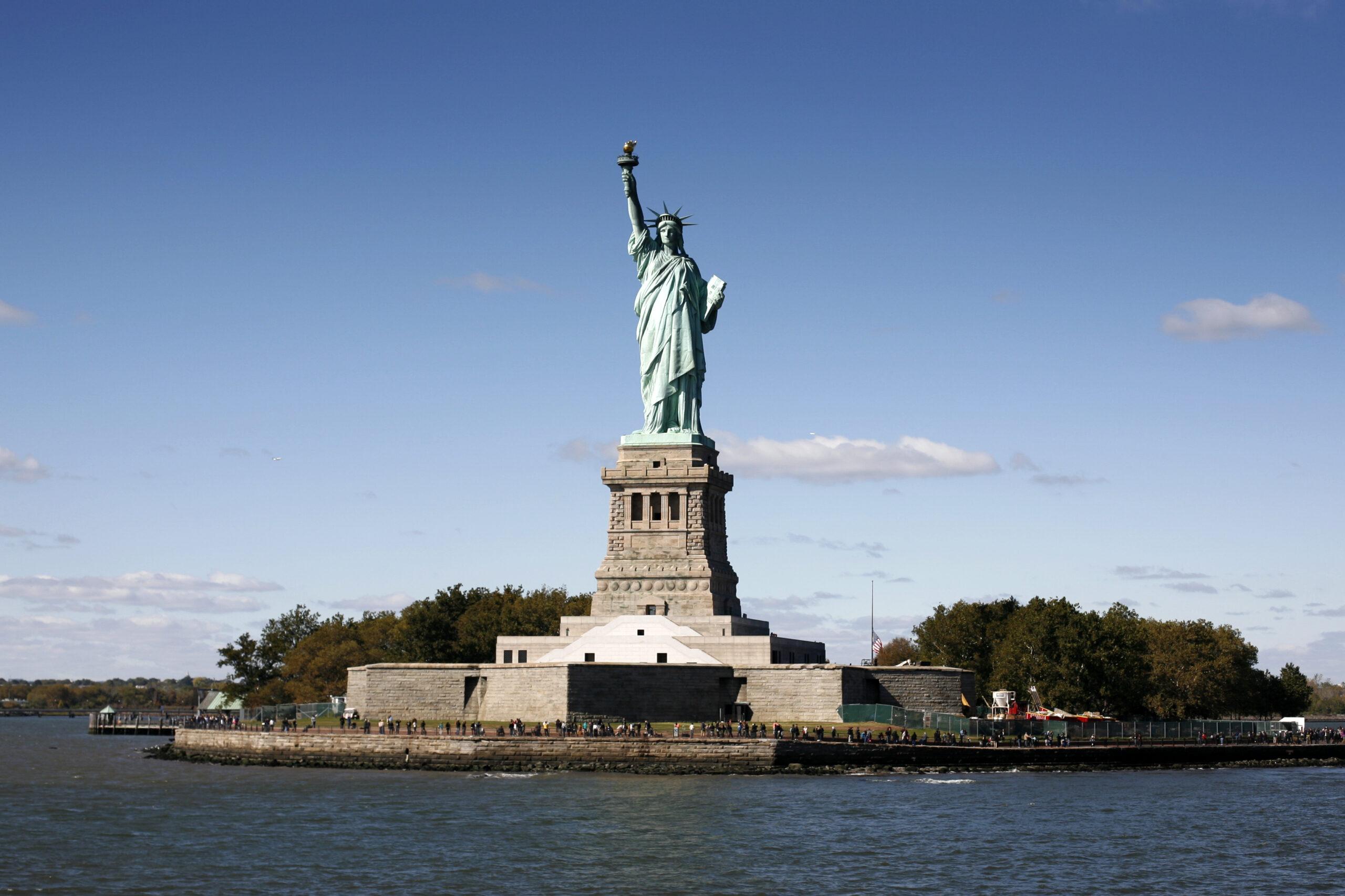 Frihedsgudinden i New York