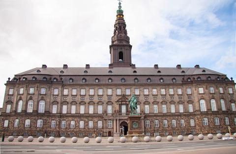 Christiansborg - Danmarks parlament